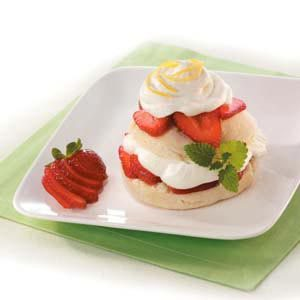 Lemon Strawberry Shortcake Recipe