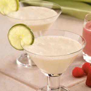 Creamy Lime Coolers Recipe