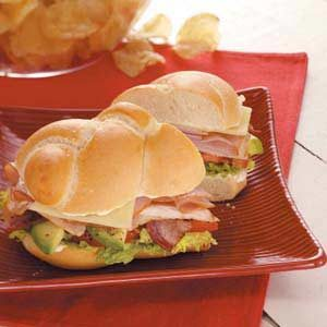 Club Sandwiches Recipe