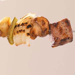 Pineapple Sirloin Kabobs Recipe