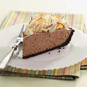 Mocha Chip Pie Recipe