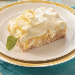 Lemony Tropic Layered Dessert Recipe