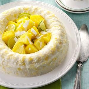 Pina Colada Molded Salad Recipe