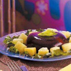 Cherry-Cheese Gelatin Salad Recipe