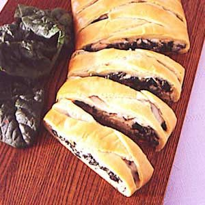 Tuna Spinach Braid Recipe