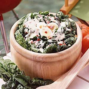 Dutch Spinach Salad Recipe