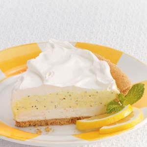 Poppy Seed Lemon Pie Recipe