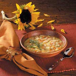 Potato Soup With Beans Recipe