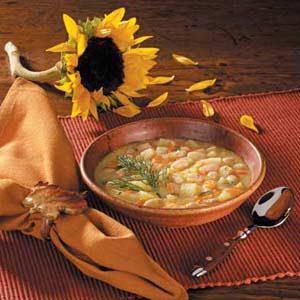 Potato Soup With Beans Recipe