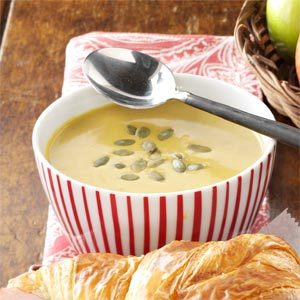 Curried Pumpkin Apple Soup Recipe