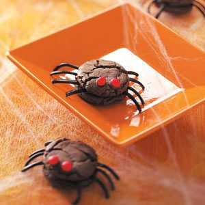 Creepy Spiders Recipe