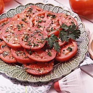 Tasty Marinated Tomatoes Recipe