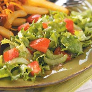 Simple Side Salad Recipe