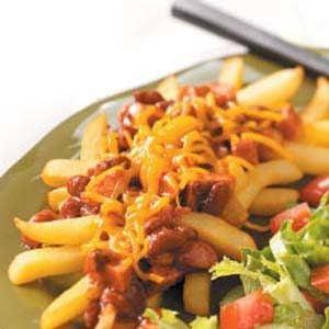Chili Dog Fries Recipe