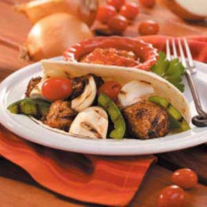 Pork Fajita Kabobs Recipe