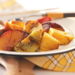 Citrus-Glazed Fruit Kabobs Recipe