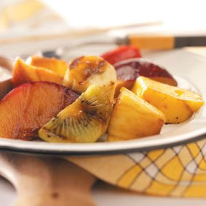 Citrus-Glazed Fruit Kabobs