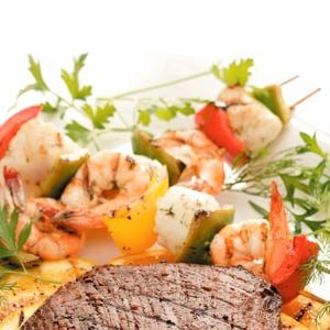 Seafood Kabobs Recipe