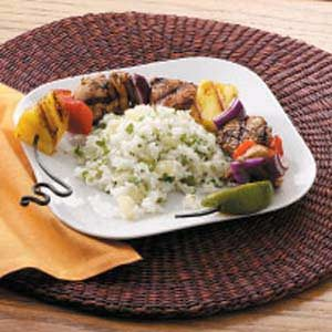 Honey-Ginger Turkey Kabobs Recipe