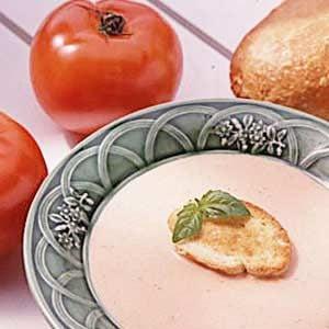 Garden-Fresh Tomato Soup Recipe