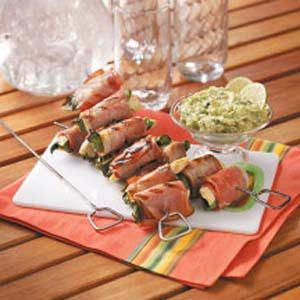 Prosciutto Chicken Kabobs Recipe