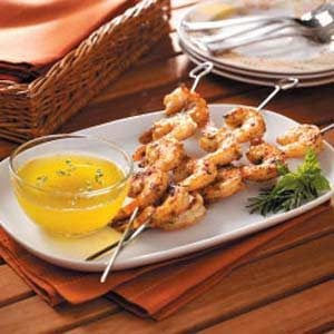 Cajun Shrimp Skewers