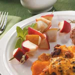 Apple 'n' Pear Kabobs Recipe