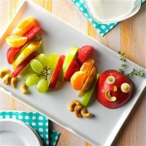 Hungry Fruit Caterpillar Recipe