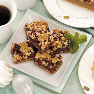 Caramel Cranberry Bars