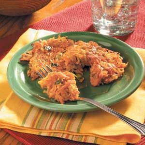 Parsnip Sweet Potato Pancakes Recipe