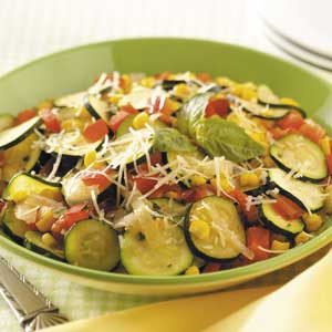 Fast Italian Vegetable Skillet Recipe