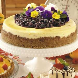Blueberry Cheesecake Recipe