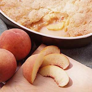 Iva's Peach Cobbler Recipe