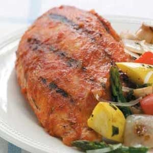 Barbecued Chicken Breasts