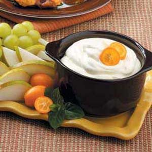 Orange Dip for Fruit