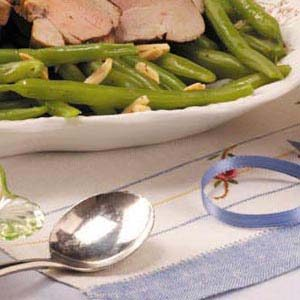 Almond Green Beans Recipe