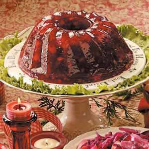 Cranberry Gelatin Mold Recipe