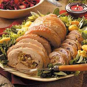 Rolled-Up Turkey