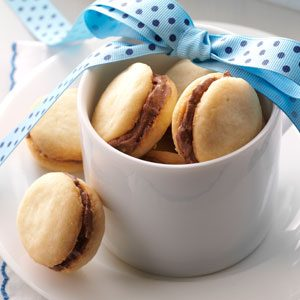 Mocha Sandwich Cookies Recipe