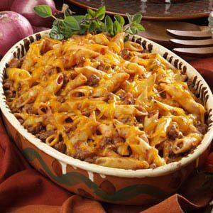 Mostaccioli Casserole Recipe