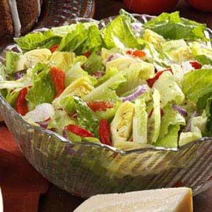 Simple Italian Tossed Salad Recipe