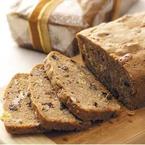 Pineapple-Raisin Nut Bread Recipe | Taste of Home