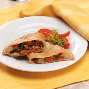 Meatless Calzones Recipe