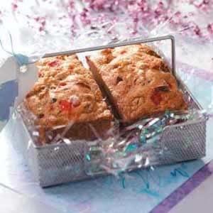 Maraschino Cherry Mini Loaves Recipe