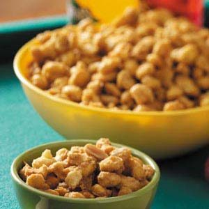 Caramel Cereal Snack Mix Recipe