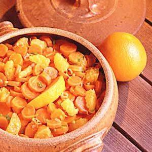 California Orange Carrots Recipe