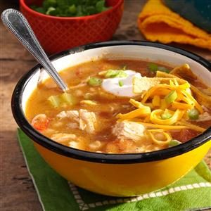 Hearty White Chicken Chili Recipe photo by Taste of Home