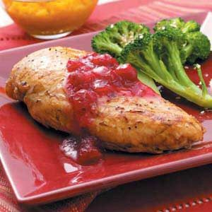 Cranberry Maple Chicken Recipe