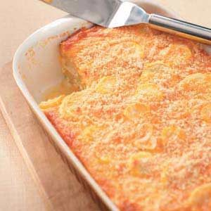 Makeover Summer Squash Casserole Recipe