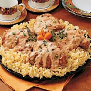 Turkey in Mushroom Sauce Recipe